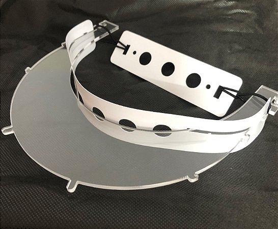 Estrutura Avulsa Para Protetor com Uso de Lupa - Cor Transparente