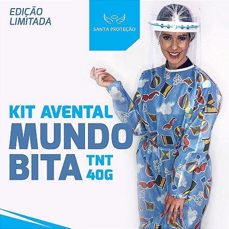 KIT Avental Mundo Bita em Tnt 40g - 2 Unidades