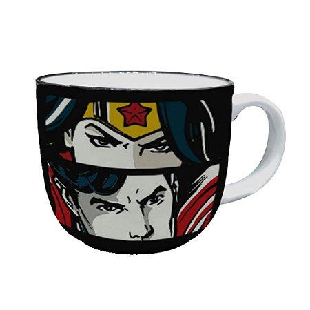 Caneca de Porcelana Liga da Justiça 330ml - DC Comics