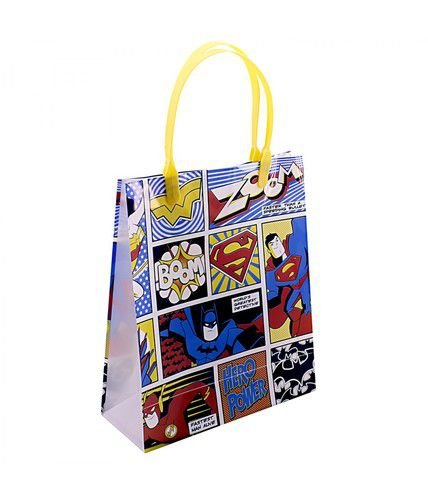Sacola para Presente Liga da Justiça Colorida - DC Comics