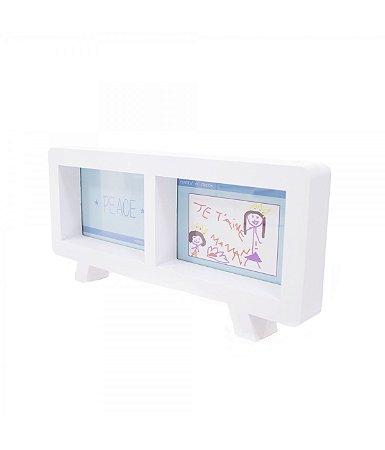 Porta Retrato Branco TV