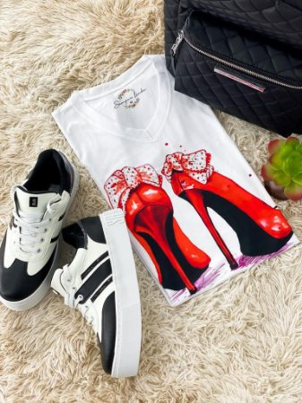 T-shirt Salto Vermelho