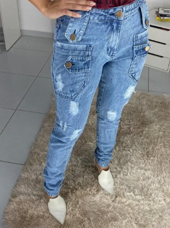 Calça Bolso Frontal