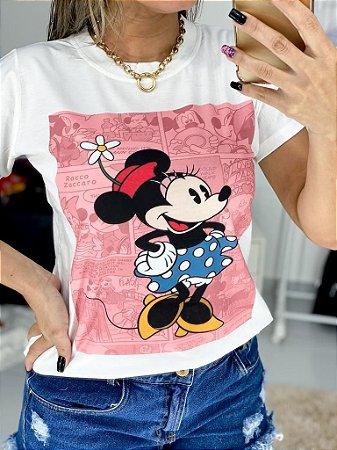 T-Shirt M. Mouse Rosa