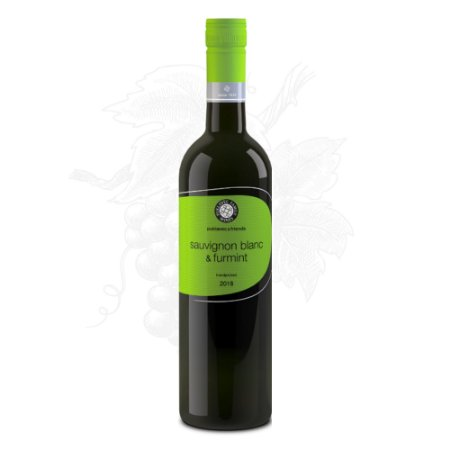 Vinho Branco Sauvignon Blanc & Furmint PUKLAVEC (Eslovênia) garrafa 750 ml