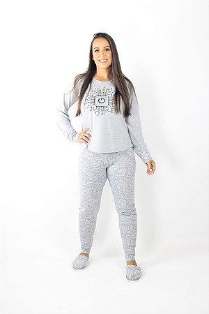 Pijama Feminino Inverno Conect