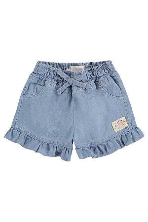 Short Jeans Feminino KUkie REf 48419
