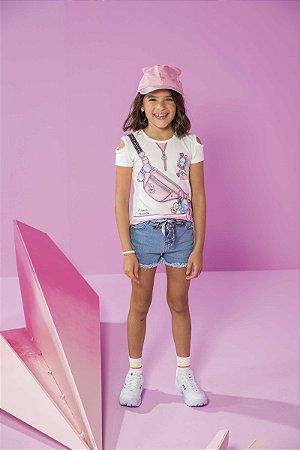 Short Jeans Feminino Kukie REf 46851