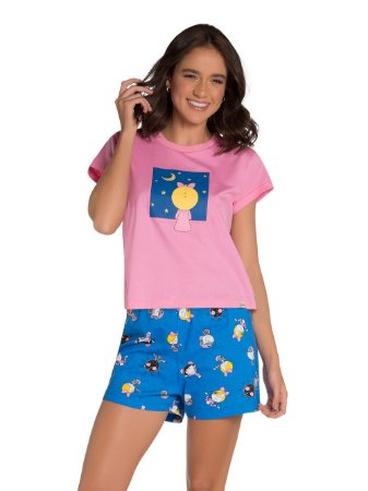 Pijama Feminino Adulto (mãe e filha ) Veggi Ref 0843