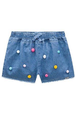 Short Feminino Jeans Ref 43262