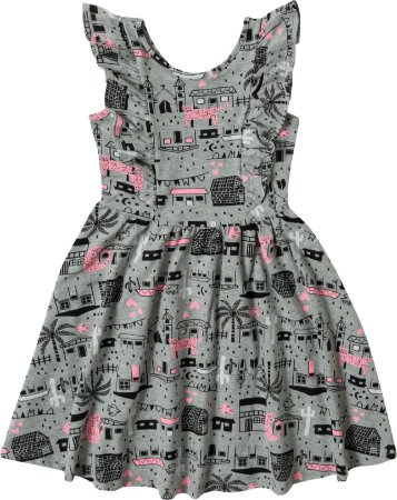 Vestido Malha Feminino Malwee Ref 80653