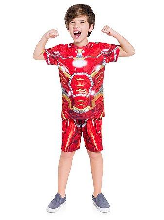 Pijama Masculino Home de Ferro Veggi Ref 0466
