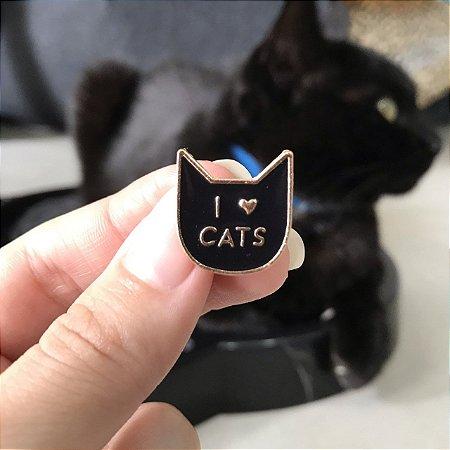 PIN Eu amo Gatos