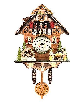 Relógio Cuco Chalé Cervejeiros
