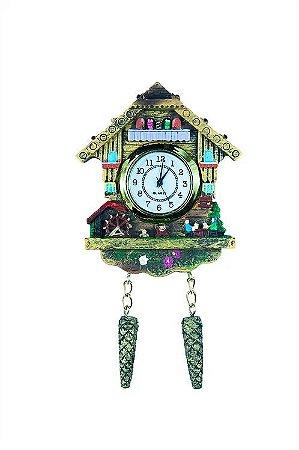 Relógio Cuco Chalé do Chopp Resina
