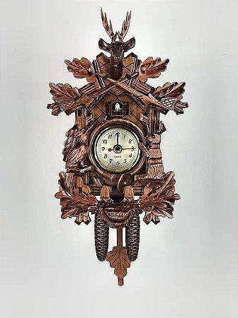 Relógio Cuco Clássico Dançarinos