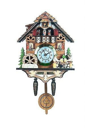Relógio Cuco Chalé Chopp