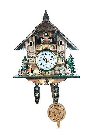 Relógio Cuco Chalé Beijoqueiros
