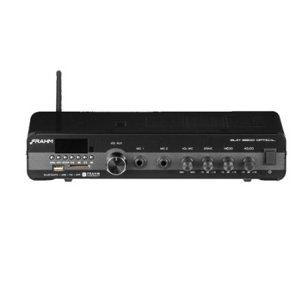 Amplificador Frahm Slim 2200 Optical G3 Para Som Ambiente