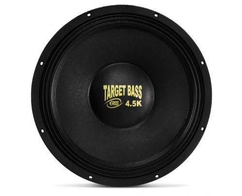 Alto Falante Subwoofer Eros 15 Pol Target bass 4.5k 2250W Rms 4 ohms