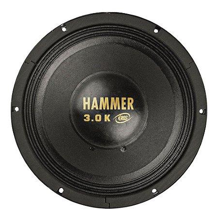 Alto Falante Woofer Eros 12 Polegadas Hammer 3.0k 1500W Rms 4 ohms