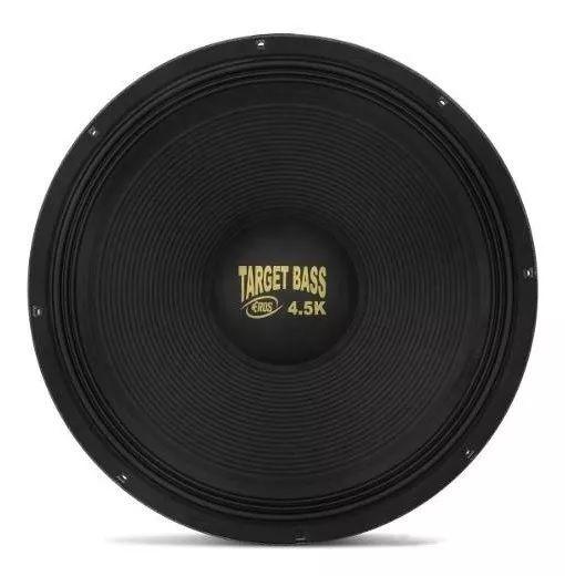 Alto Falante Woofer Eros 18 2250w 4.5k Target Bass Sub 8ohms