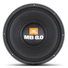 Alto falante Woofer JBL 12 Polegadas 12MB8.0 4000W Rms 2 Ohms