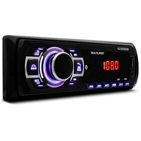 AUTO RADIO MULTILASER NEW ONE BT MP3/FM/SD/USB/AUX 4X125W P3319