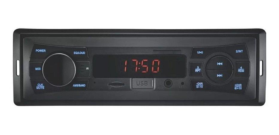 Auto Radio Wave Fiesta P3265 Usb Sd Multilaser