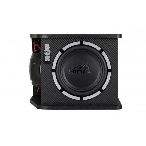 Caixa Automotiva Amplificada Hinor Active Boom Box 250w Rms