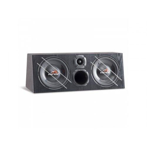 Caixa Automotiva Amplificada Hinor Box Trio 2000 200W/RMS
