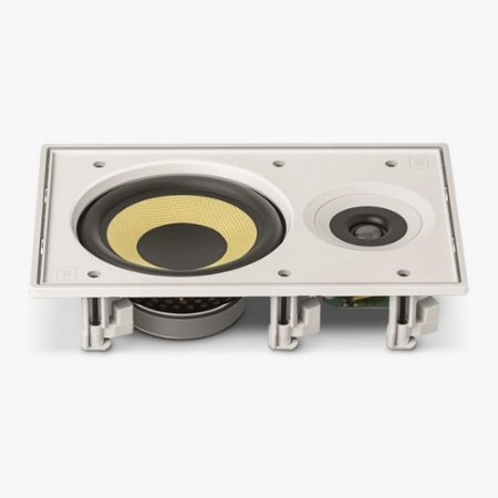 Caixa de Som Arandela JBL CI6R Retangular de Embutir Branca 60W RMS