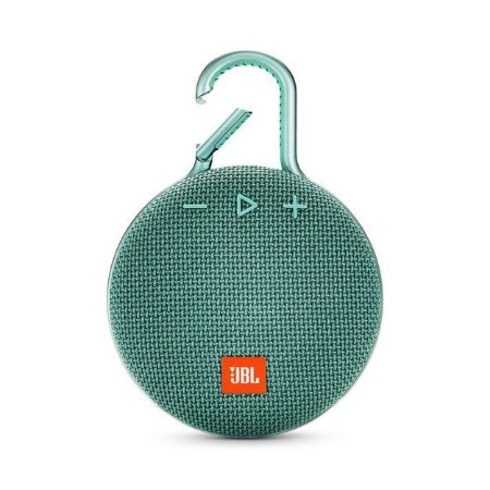 Caixa de Som JBL Clip 3 Bluetooth A Prova D'água Verde