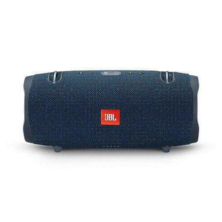 Caixa De Som Portatil Jbl Box Xtreme 2 Blue 40w Bluetooth