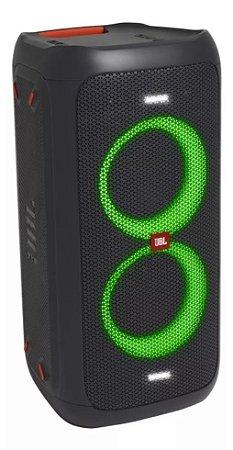 Caixa De Som Portátil Jbl Partybox 100 BLACK com Bluetooth
