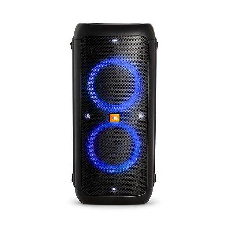 Caixa De Som Portátil Jbl Partybox 300  BLACK com Bluetooth