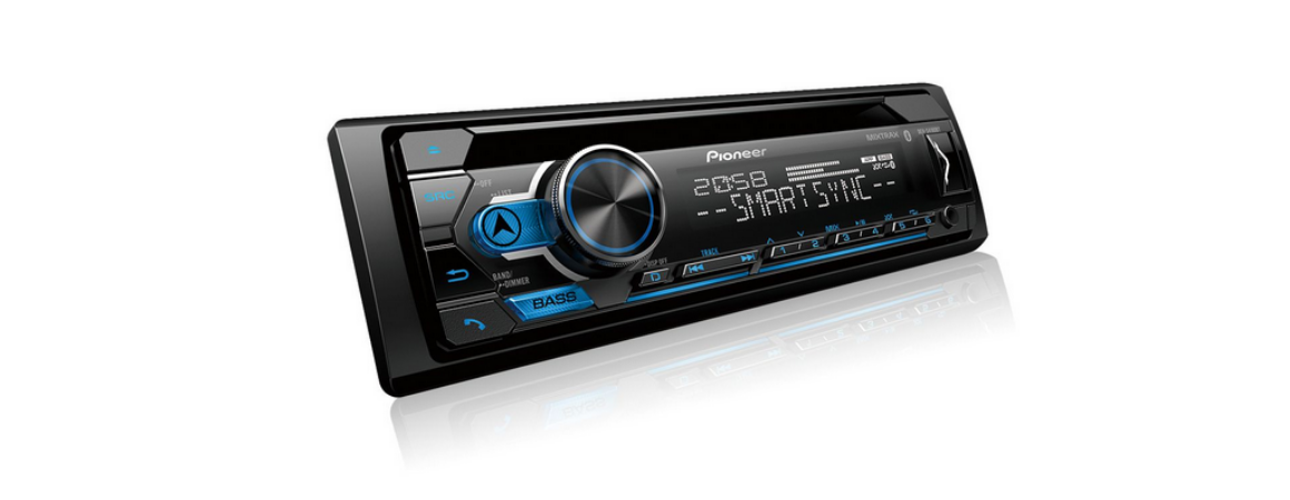 CD Player Automotivo Pioneer DEH-S4180BT Bluetooth USB