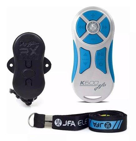 Controle Longa Distancia JFA K600 Branco com Azul 600 Metros