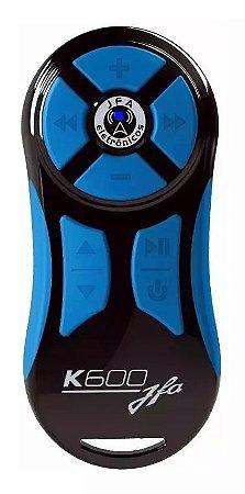 Controle Longa Distancia JFA K600 Preto com Azul 600 Metros