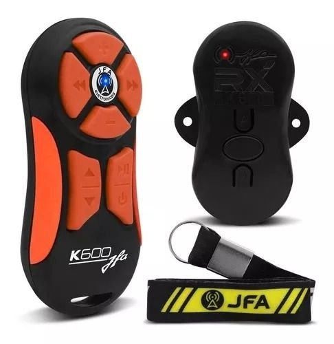 Controle Longa Distancia JFA K600 Preto com Laranja 600 Metros