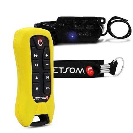 Controle Longa Distancia Stetsom SX2 Light Amarelo 8 Funções