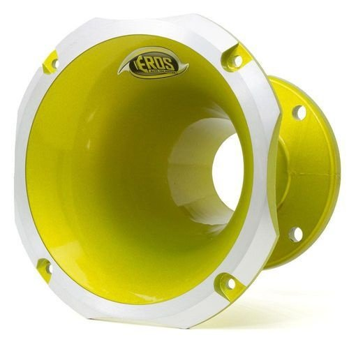Corneta Eros Alumínio EC 4160 Amarelo 2 polegadas