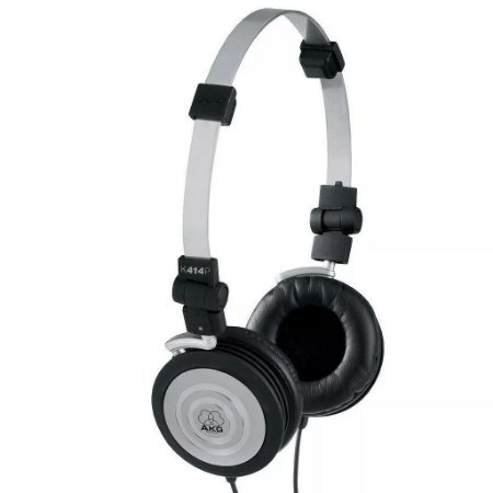 Fone de ouvido Akg K414P profissional + bolsa