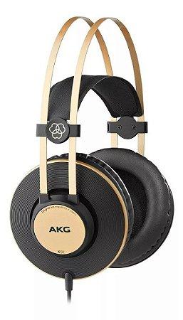 Fone De Ouvido AKG K92 Headphone Profissional Preto