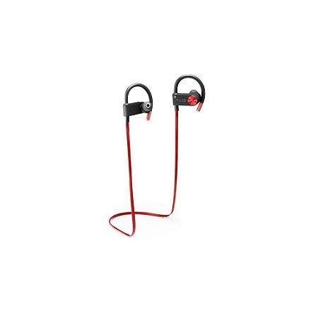Fone De Ouvido Bluetooth Earhook Vermelho Ph253 Pulse