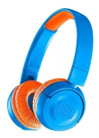 Fone De Ouvido Infantil Jbl JR300 Kids Bluetooth Azul
