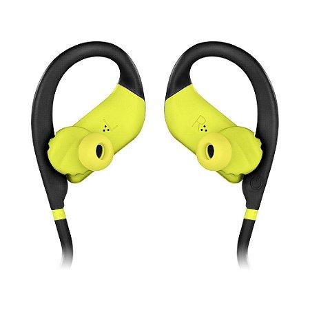 Fone de ouvido Jbl Endurance JUMP intra auricular AMARELO NEON