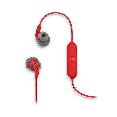 Fone De Ouvido Jbl Endurance Run Bt Bluetooth Com Microfone VERMELHO