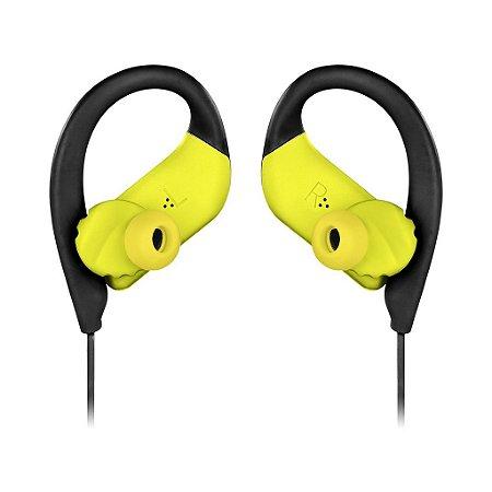 Fone de ouvido Jbl Endurance SPRINT intra auricular AMARELO NEON
