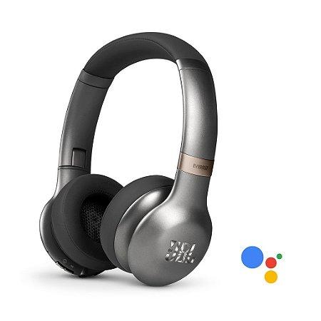 Fone de ouvido Jbl Everest V310GA com Bluetooth PRATA